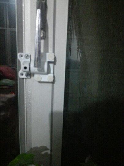 华利 平开窗锁 儿童安全窗锁 防盗窗锁 平开门窗户锁 防护锁 塑钢门窗锁 铝合金窗锁 铝合金门窗用--低座 晒单图