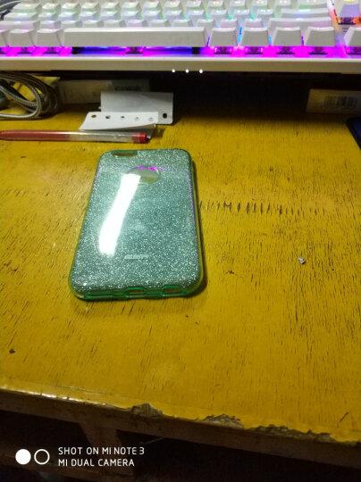 亿色(ESR)iPhone6/6s手机壳/保护套 4.7英寸苹果6/6s手机套 闪粉防摔保护软壳 彩妆系列 珊瑚绿 晒单图