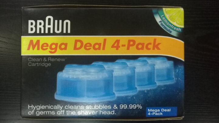 博朗电动剃须刀清洁液4盒装Mega Deal 4-Pack 晒单图