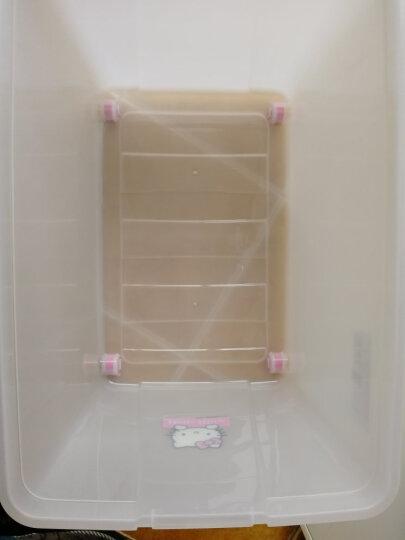 爱丽思IRIS 迪士尼DISNEY米奇米老鼠儿童环保收纳盒整理储物箱 42L 晒单图