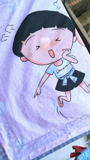 轻音家纺  纯棉学生儿童卡通四件套床品套件 蜡笔小新樱桃小丸子床上用品 小新日记 1.8m床200*230cm 晒单图