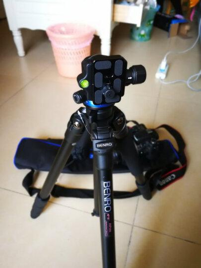 百诺(Benro)三脚架 IF18C+ 单反三脚架云台佳能尼康相机 超强碳纤维 可反折转独脚架 晒单图