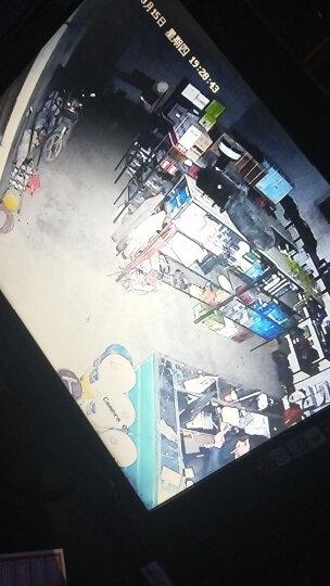 雅视威 模拟摄像头 监控设备套装 监控摄像头室外 家用高清摄像头室内1200线白光日夜全彩防水摄像机 六灯红外隐形1200线高清室外防水摄像头 6mm 晒单图