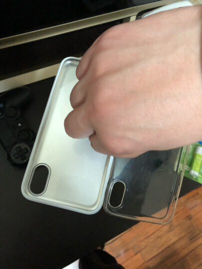 第一卫【买3免1】iPhoneX/XS手机壳苹果xs max手机保护套透明全包防摔超薄硅胶软套磨砂 电镀银【XR专用】送钢化膜 晒单图