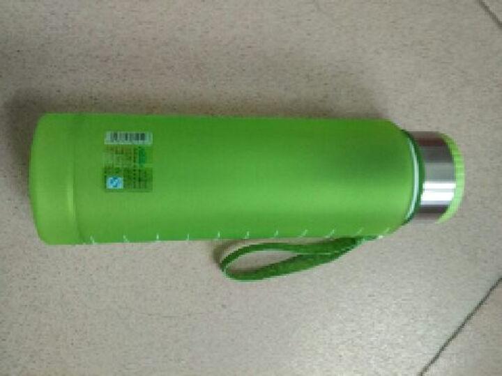 阿姿玛(aomo) 阿姿玛大容量太空杯磨砂塑料水杯户外运动水壶防漏便携1.2L 黄色 2942--1200ml 晒单图