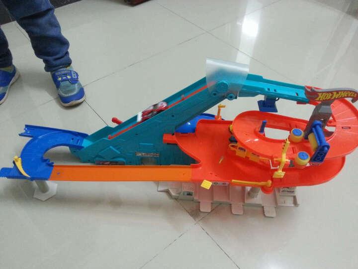 HotWheels风火轮轨道车玩具赛车火辣小跑车赛道玩具轨道车套装 男孩儿童玩具 多功能汽车世界BGJ18 晒单图