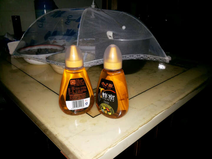 心之源 蜂蜜456g 荆条椴树百花蜜 纯净天然成熟农家土蜂蜜 晒单图