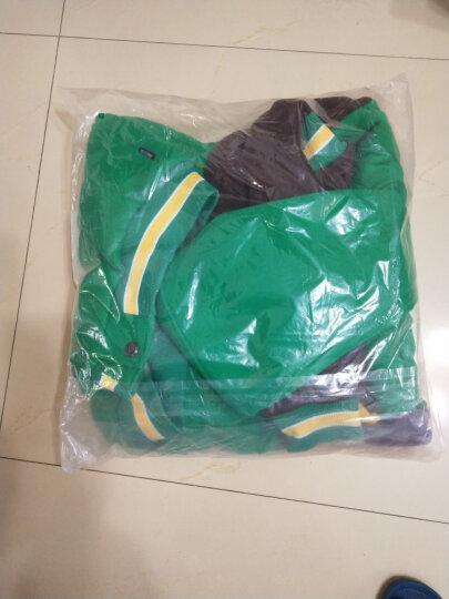 亚卡比童装男童秋冬外套新款中大童上衣儿童外套加绒加厚卫衣开衫潮 绿色 170cm 晒单图