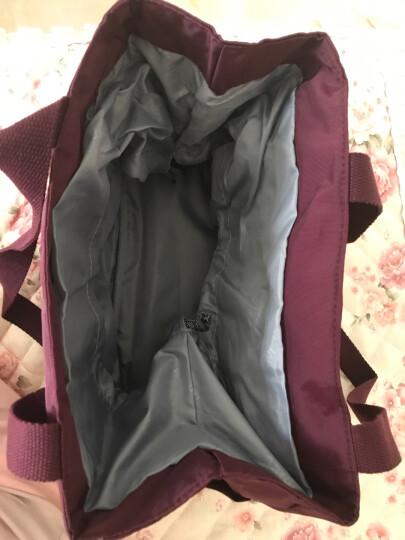 Aardman 妈咪包 内胆包 单肩手提小号母婴包多功能妈妈包分格孕妇外出 HY-1516 葡萄紫 晒单图