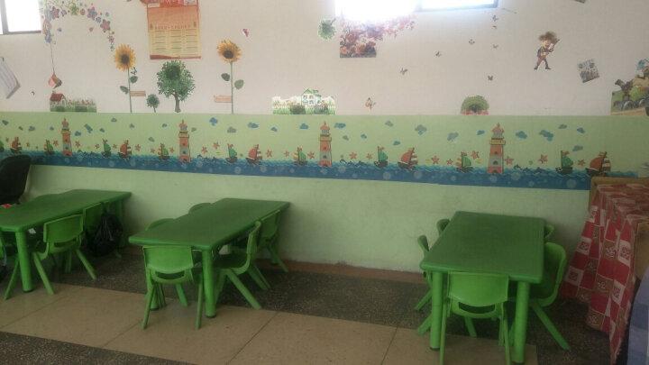 凡雅空间 幼儿园学校小学教室班级布置文化墙贴画墙贴纸装饰品卡通图书角表扬黑板报墙壁纸自粘 09.青蛙作品栏 中号 晒单图