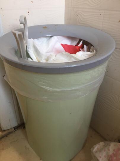 家杰 垃圾桶加宽压圈式 简约家用办公垃圾桶 JJ-GB107 晒单图