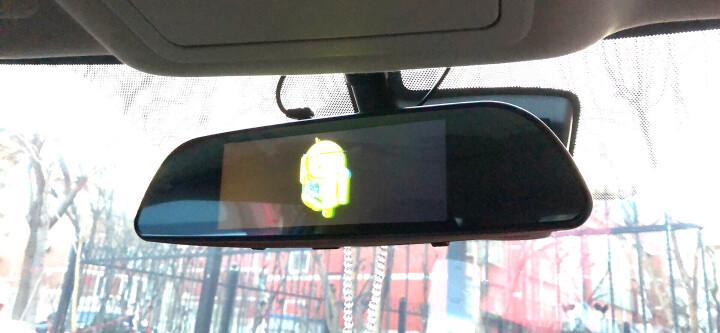 丁威特7英寸智能3G声控导航仪行车记录仪双镜头电子狗蓝牙wifi升级高清夜视后视镜一体机 (套餐一16G)7英寸声控蓝牙导航记录仪云狗3G版 晒单图