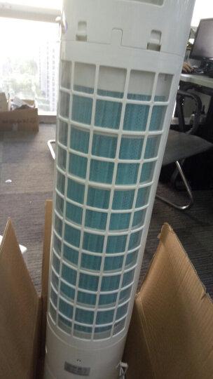 标王塔式远程遥控冷风扇塔扇家用12h预约定时静音空调扇 制冷冷气扇广角冷气机冷风扇 塔扇 晒单图