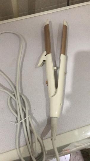 奔腾(POVOS) PR5073  二合一多功能直发夹板卷发棒卷发器 卷直两用 金色 晒单图