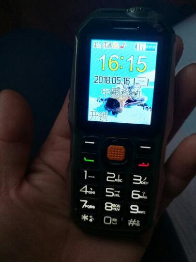 亚奥星 迷你6800 移动联通2G 老人手机 三防电霸超长待机 军绿色 晒单图