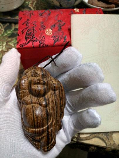 一生一木 手把件木把玩件文玩把件木雕虎皮檀木越南沉香木花奇楠木香古玩手串配饰手把玩饰品红木礼品 (貔貅) 晒单图