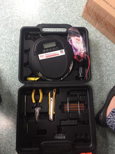 舜展车载充气泵迷你小智星打气泵小轿车汽车电动便携式家用 工具箱款 晒单图