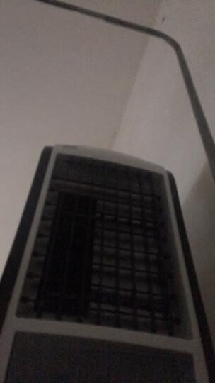迷你空调扇冷风扇加湿制冷机 学生宿舍便携式小空调制冷电风扇冷气扇微型小型空调家用办公室无叶无扇叶风扇 YS46遥控款/黑色 晒单图