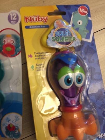 努比(Nuby) 婴儿戏水玩具 宝宝洗澡玩具喷水乌贼 6146 晒单图