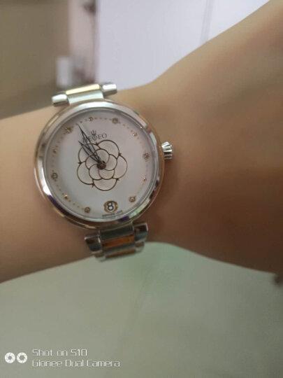 【好评过万】瑞士海士爵机械女表风之精灵系列时尚唯美女士手表 >创意花型秒针设计全自动情侣表 高雅白-新到货 晒单图