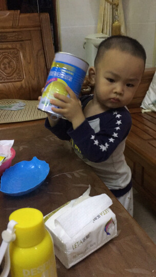 安琪纽特 乳铁蛋白乳清蛋白粉 儿童增强免疫乳铁蛋白粉 牛初乳粉 三罐装 晒单图