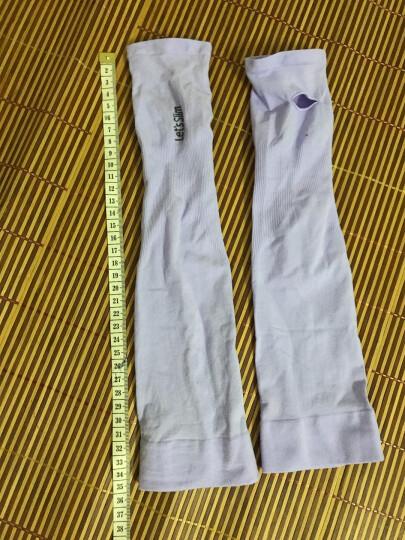 夏季防晒手套冰袖女薄款长款防紫外线开车防晒袖套手臂套袖子手套 白色 晒单图