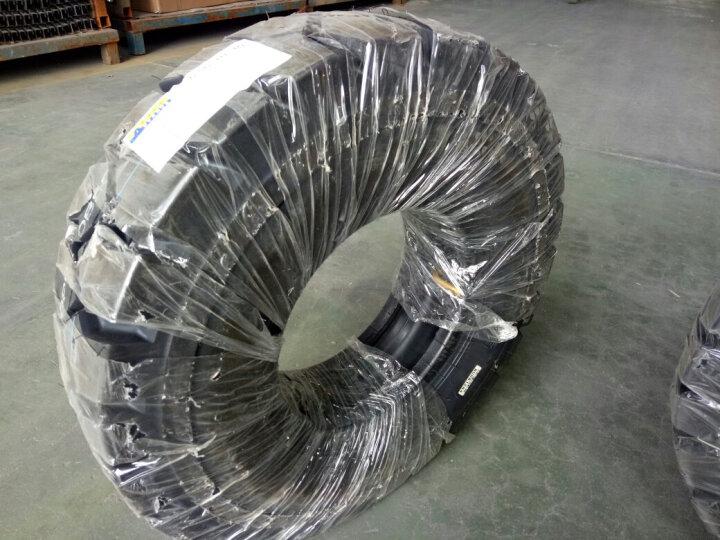 叉车轮胎充气胎650-10/6.50-10NHS充气胎3吨叉车后轮 LB-033花纹 充气胎   18*7-8 晒单图