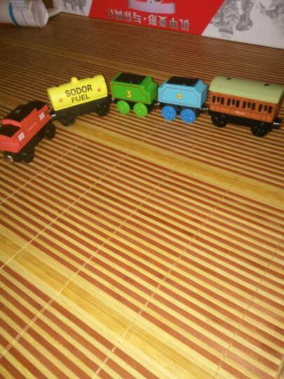 抖音同款创意卡通助力玩具 儿童木质小火车头套装 磁性轨道滑行益智木制大号玩具车 23节车厢 晒单图