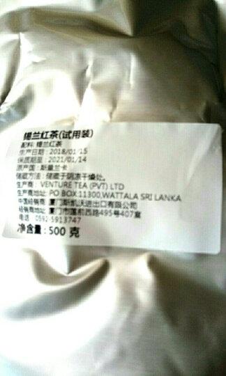 DIY奶茶锡兰红茶CTC港式丝袜奶茶原料斯里兰卡进口红茶粉奶茶专用茶粉丝袜奶茶粉 500克试用装 晒单图