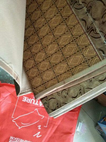 意尔嫚 凉席家纺 席子夏天夏季凉席三件套折叠席子御藤席双人空调凉席1.5米/1.8米单人双人凉席 芝麻花 120*195cm一条席子+一个枕套 晒单图