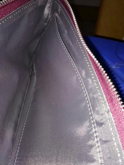 第九城(V.NINE) 女士钱包头层牛皮多卡位长款情侣钱包女大容量手抓包拉链钱夹 长款拉链VS711998(紫色) 晒单图