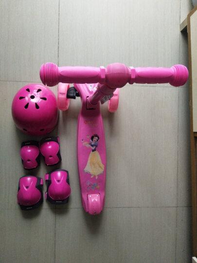 迪士尼(Disney)滑板车儿童闪光摇摆车四轮可折叠升降脚踏车DCA71101-D 晒单图