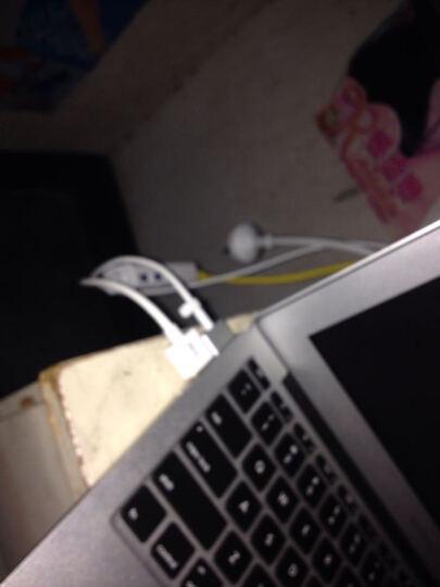卡丽蒂(KALIDI) 卡丽蒂macbook苹果电脑转换器usb-c分线器网卡笔记本网线转接口拓展 USB 3.0百兆-白色 晒单图