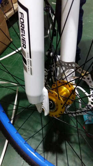 永久(FOREVER) 山地车自行车21/24/27/30速成人/学生26寸男女款变速车 27速9.3高配版白绿色 晒单图