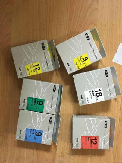普贴PUTY 爱普生,锦宫标签色带,KINGJIM标签,标签打印机碳带SR230CH标签 SC12RW 晒单图