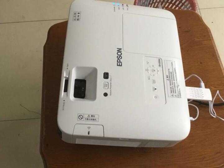 爱普生(EPSON) 商务工程投影仪 高清办公投影机 CB-2055(5000流明 标清) 官方标配(送上门安装) 晒单图