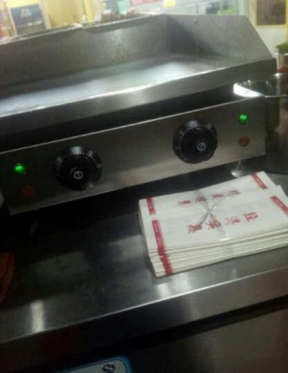 晴康 手抓饼机器 电扒炉商用 铁板鱿鱼机器烤冷面铜锣烧机铁板烧设备 电扒炉 晒单图