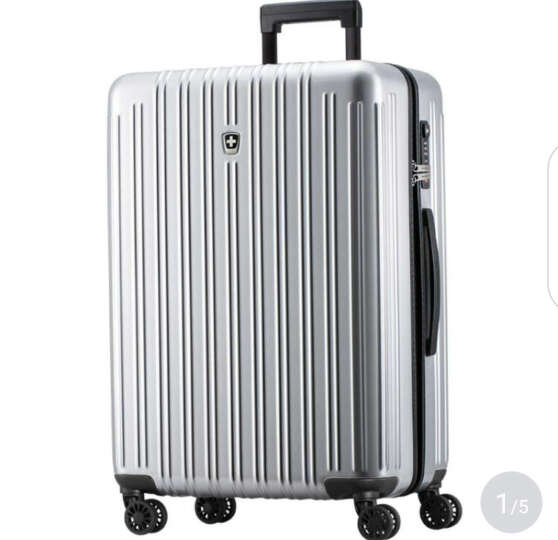 瑞动拉杆箱 24英寸行李箱 时尚轻盈大容量旅行箱静音万向轮男女 晒单图