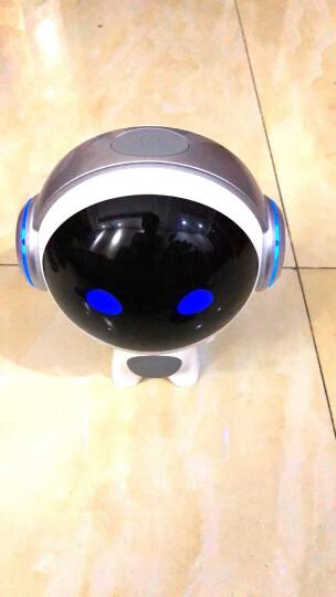 即诺 DIAO 会对话的木木机器人 儿童早教智能机器人 玩具学习机英语WIFI云故事机 正太银 晒单图