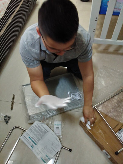 四季沐歌(MICOE) 微波炉架子不锈钢厨房置物架收纳架厨房用品烤箱架 三层63cm长 晒单图