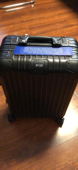 日默瓦rimowa全新Original系列登机拉杆行李箱铝镁合金原Topas Stealth升级款 82L/30寸-托运箱 晒单图