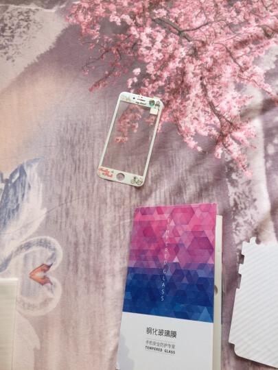 【买二送一】今首为 苹果6s钢化膜卡通彩膜3D全屏覆盖防指纹iPhone6plus手机膜女 6/6s-4.7英寸-单车爱情 晒单图