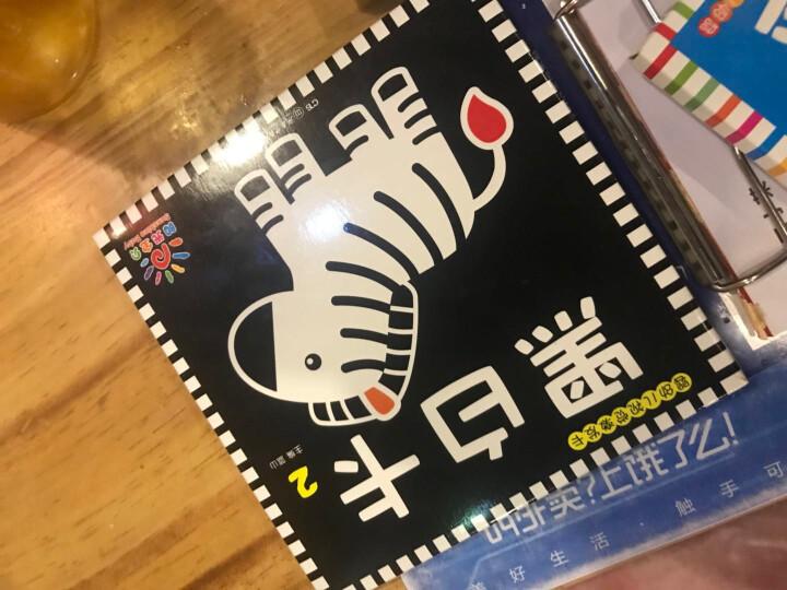 任选 婴幼儿视觉彩色卡全4册 0-3岁宝宝辅食菜谱书 奇妙的科学注音版儿童绘本 恐龙书籍 婴幼儿视觉激发卡全4册 晒单图