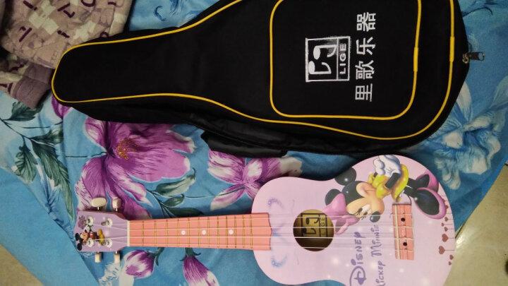 里歌 LIGE尤克里里ukulele21寸初学小吉他jita乌克丽丽夏威夷琴 LUK-266 21寸玫瑰沙比利木 晒单图