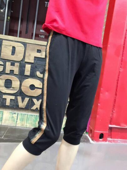 尚美达 中老年运动套装女春秋三件套2018新款立领40岁妈妈装秋韩版修身休闲套装跑步运动服大码外套 黑色 女-XL 建议体重111-120斤 晒单图