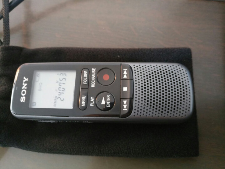 索尼(SONY)ICD-SX2000 Hi-Res 高解析度立体声数码录音棒/录音笔 三向麦克风 16GB大容量(黑) 晒单图
