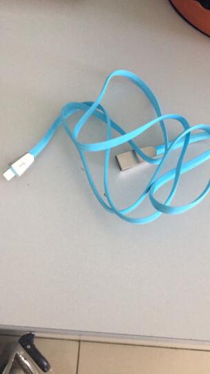 幻响(i-mu) 苹果数据线/充电线 1.2米 蓝色 苹果手机5/5s/6/6s/7/8/Plus 锌合金苹果数据线 1.2米蓝色 晒单图