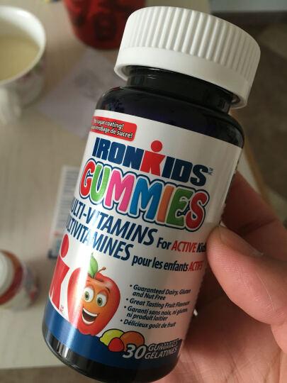 小铁人(IronKids) 【第2件半价】加拿大进口儿童青少年 多种复合维生素软糖60粒 晒单图