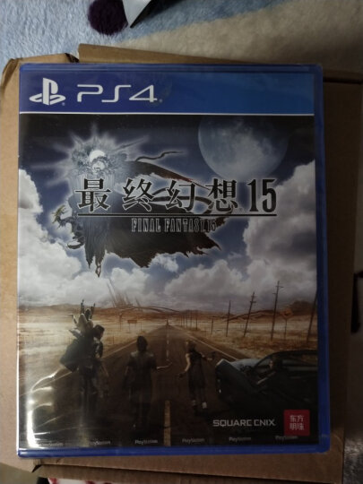 索尼(SONY)PlayStation PS4 slim/Pro 游戏光碟 PS4游戏 格斗类 不义联盟 人间之神 双人英文 晒单图