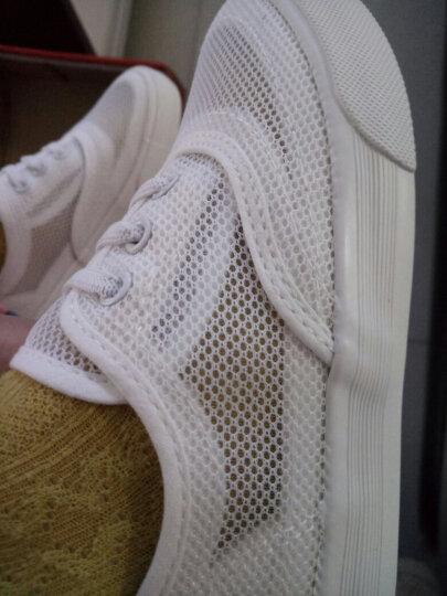 人本童鞋帆布鞋儿童低帮帆布鞋男童女童单鞋新款休闲板鞋 黑色 37 晒单图
